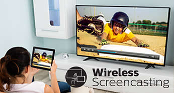 Wirelessly mirror the screen of smart device on your TV
