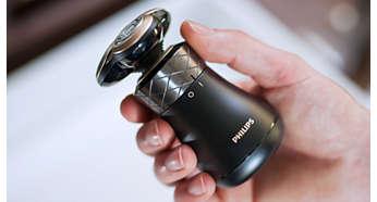 Optimale Ergonomie zur Unterstützung der Rasur