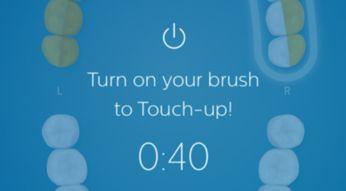 Druhá šance vyčistit vynechaná místa díky funkci TouchUp