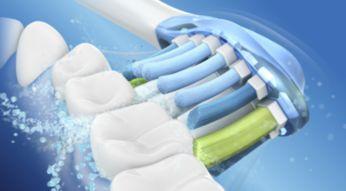 Dynamisk børstning til en bedre mundhygiejne