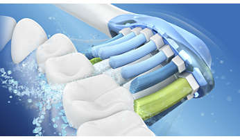 Dynamic cleaning action for better oral health