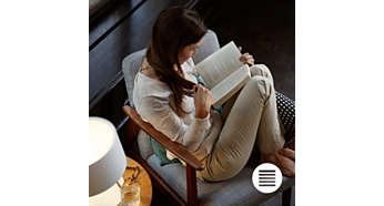 Mükemmel bir okumanın tadını çıkarın
