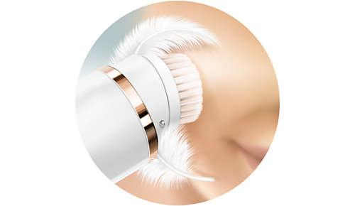 Pass. 1: delicata pulizia della pelle