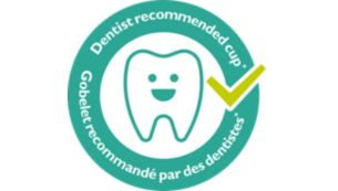 Dentist recommeded cup*