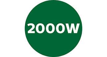 강력한 2000W 전력과 45000RPM