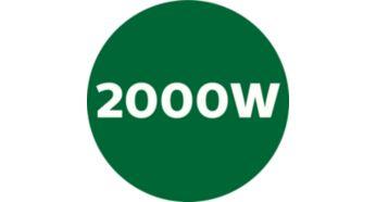 Мощная мощность 2000 Вт и 45000 об / мин