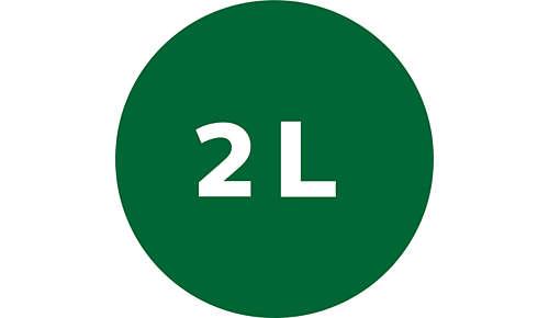 Vas Tritan de 2,2 l pentru aportul zilnic de substanţe nutritive şi de fibre