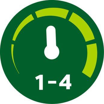 Ручной режим с параметрами переменной скорости