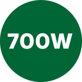 Động cơ công suất cao 700W cho hiệu quả xay nhuyễn mịn