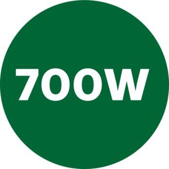 Мощный мотор 700Вт обеспечивает идеальное смешивание