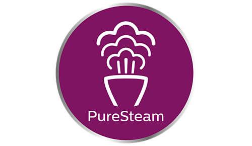 PureSteam-Technologie: kraftvolle Dampfleistung über Jahre hinweg