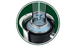 Просто добавьте воды для предварительной очистки