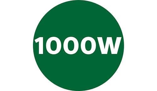 Leistungsstarker 1.000-Watt-Motor