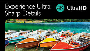 4K Ultra HD performance for years of worry free enjoyment