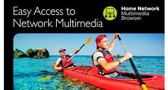 Easily enjoy local media from you home network