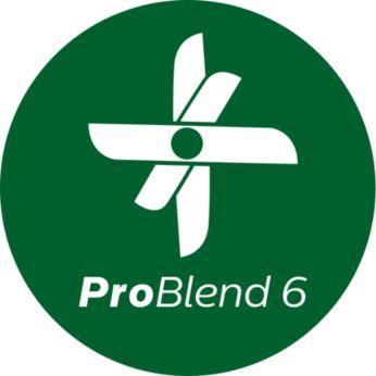 Tehnologie ProBlend 6 pentru amestecare fină
