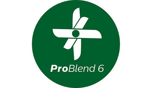 Beter mengen dankzij de ProBlend 6-technologie