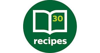 Met receptenboekje vol inspirerende recepten
