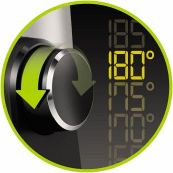 QuickControl dial with digital display