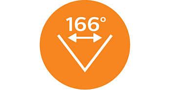 166° 度廣角鏡頭