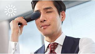 放松:4 分钟热护理模式缓解眼部疲劳,放松双眼