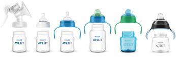 Gama adecuada desde la lactancia materna hasta la alimentación con vaso