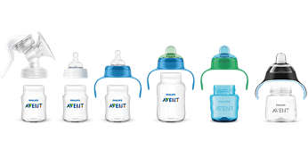 Compatibele collectie: van borstvoeding tot drinkbeker