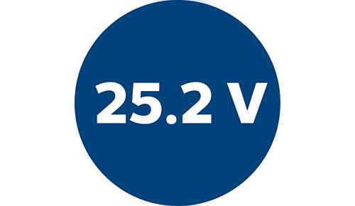 Leistungsstarker 25,2V Lithium-Akku für 1Stunde Reinigung