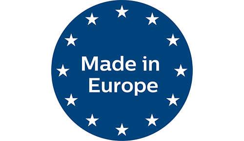 Hergestellt in Europa
