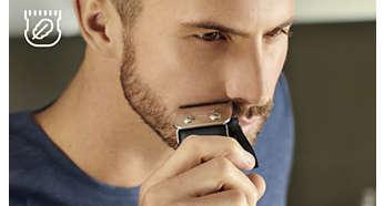 Puntas de cuchilla con un diseño especial para reducir los cortes