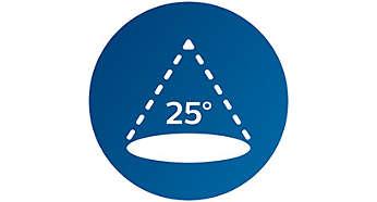 25º Halogen-Abstrahlwinkel
