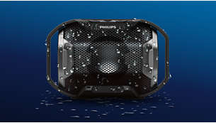 Built outdoor tough - rugged, shockproof, water resistant
