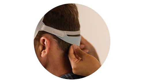 Schlankes Kopfband-Design