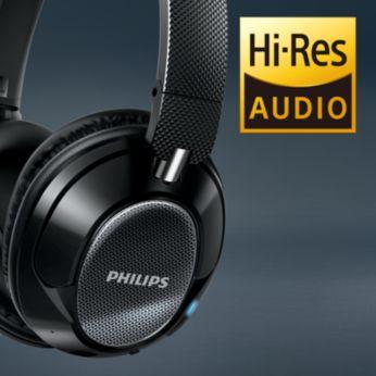 Kõrglahutuslik heli tagab puhtaima heli taasesituse