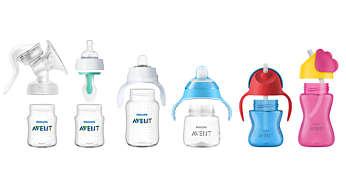 Ühildub Philips Aventi pudelite ja tassidega