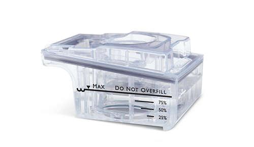 Helppokäyttöinen vesisäiliö pitää veden erillään laitteesta