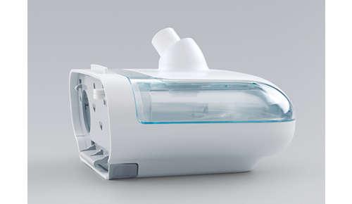 Säiliön kannen ja pohjan voi irrottaa puhdistusta varten. Voi pestä astianpesukoneessa.