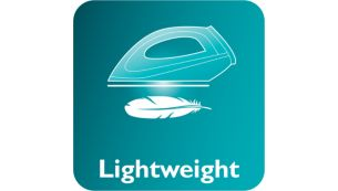Light weight iron for effortless ironing