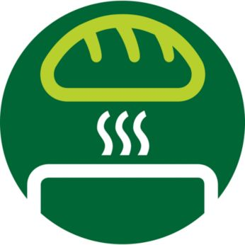 Vỉ hâm nóng bánh bao gắn kèm để làm nóng ổ bánh mì, bánh bao hay bánh ngọt