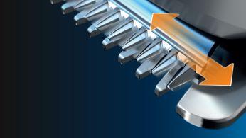 Uzun süreli keskinlik için Paslanmaz Çelik Bıçaklar
