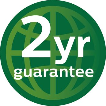 2 years worldwide warranty on the whole product