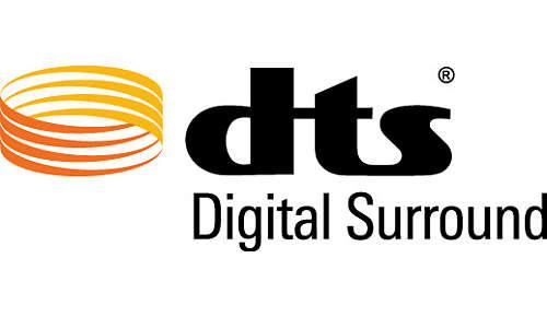 Dolby TrueHD en DTS voor een geweldige Surround Sound