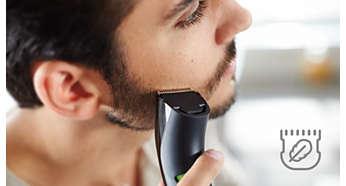 Skin-friendly blades for zero trim