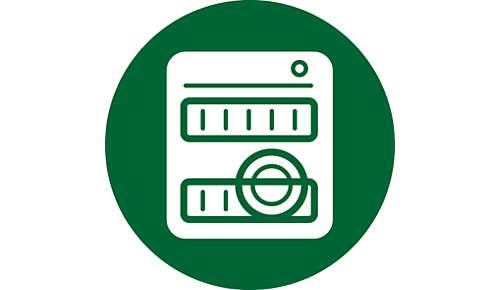 Detachable parts - dishwasher-safe