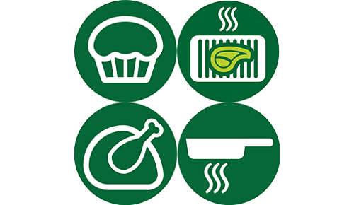 Friggi, cuoci al forno, griglia e arrostisci i tuoi piatti preferiti a casa