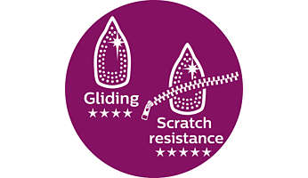 Philips' best gliding with increased scratch resistance