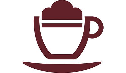 Nunca ha sido tan fácil preparar un cappuccino