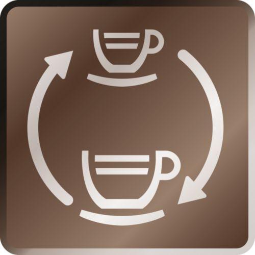 Pressione di erogazione variabile per caffè ed espresso