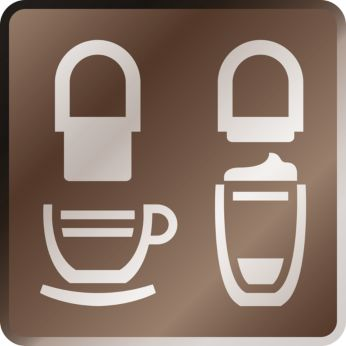 enjoy a great coffee with auto-rinse & guided descaling