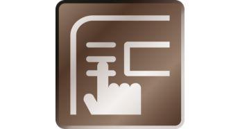 Enhanced control of your machine via the advanced display